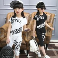 WEONEWORLD 2017 Summer Children' s Hip Hop Style Clothin...