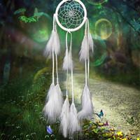 Dream Catcher Antigo Imitação Enchanted Floresta Dreamcatcher Presente Handmade Dream Catcher Net Com Penas Carro Pendurado Decoração Ornamento