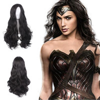 Z&F Halloween Cosplay Party Wigs Wonder Woman Diana Prince 7...
