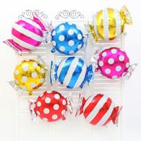 Candy Foil Ballons ballon d'hélium décorations de mariage baloon mariage air balles joyeux anniversaire ballons événement Fournitures de fête