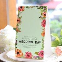 Kalite Düğün Iyilik Parti Çiçek Masa Adı Yeri Kart Numarası Kart Koltuk Kartı Düğün Hatıra Malzemeleri Şekeri Ve Parti Hediyeler Için