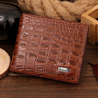 HOT SALE Fashion men wallets designer leather brand quality ...