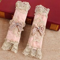 Top Selling Refrigerator Door Handle Covers Embroidered Lace Handle Wrap Fridge  Door Stand Handle Covers 2PCS JC0375