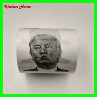 Creative Toilet Paper with Donald Trump Photo Printing Gag G...