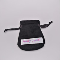 Black Jewelry Velvet Pouches Bags For Pandora Style Jewelry ...