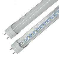 LED T8 TUBO 0.6M 2FT 12W 1100LM SMD 2835 Lámparas de luz 2 pies 600 mm 85-265V LED Fluorescente