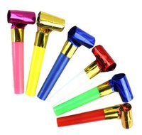 New Arrival Funny Colorful Whistles Kids Childrens Birthday ...