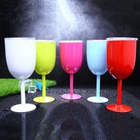 10oz Fashion New Style Wine Glass Cup 9 Colors Stainless Ste...
