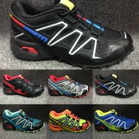 New Speedcross 3 Children Hiking Shoes Speed Cross 3 CS Cros...