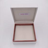 Biżuteria Pudełko Opakowania 5 * 5 * 4 cm Dla z Pandora Styl Bransoletka Biżuteria Bransoletka Charms Koraliki Pierścieniowe Pudełko Biżuteria Wyświetlacze Pudełka Opakowania