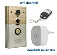 720 وعاء wifi كاميرا فيديو doorphone لاسلكية كشف الحركة إنذار wifi الجرس ل ios الروبوت الهاتف