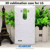 50 stücke Neue Ankunft für LG G3 4 5 6 sublimation 3D fall 3d blanko abdeckung für LG V10 V20 3d weißen fall