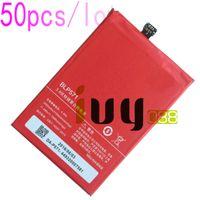 50 adet / grup 3000 mAh Orijinal BLP571 Yedek Li-Polimer Pil Için ONEPLUS 1 + Bir artı 64 GB 16 GB Piller Batteria Batterij