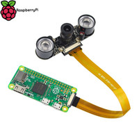 Freeshipping Raspberry Pi Zero Camera Module Fokal Justerbar Nattvision Webbkamera med IR-sensor LED-ljus för RPI Zero