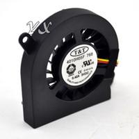 Вентилятор видеокартыНовый T T 4010H05F 768 5V 0.42A 4CM 3 провода ноутбука вентилятор охлаждения видеокарты