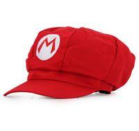 Новый Super Mario Bros Косплей Шапка 5 Цветов Супермарио Восьмиугольная Шапка Бейсболки Для Взрослых Мультфильм Шляпа 188