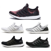 2017 Ultra Boost 3. 0 Triple black White Running Shoes Oreo C...