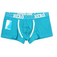 Nueva boxeador calzoncillos de algodón de los hombres 2016 boxeadores de la ropa pantalones cómodos Fit macho M L XL XXL