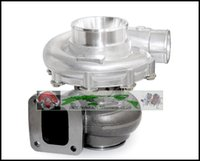 Turbocharger Turbo ** مبرد بالماء ** T76 T4 Turbine: A / R 0.81 Comp: A / R 0.80 1000HP Turbo charger T4 flange V-Band with Gaskets