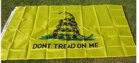 NUEVO 90x150cm Bandera americana 100% poliéster Bandera de EE. UU. No me pises Bandera de Gadsden 3 * 5 pies Rebelde confederado