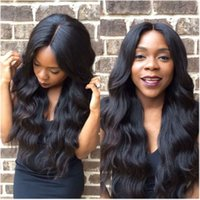 Virgin Human Hair Full Lace Wig Brazilian Glueless Full Lace...