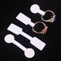 Hot Sale Jewelry Price Tag Paper Cover Rings Cards Write Siz...