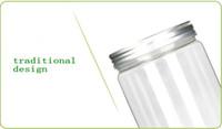 إفراغ حاويات مستحضرات التجميل زجاجة 80G 100G 120G جرة Contenitori التجميل ENVASES بلاستيكو الغرافة البلاستيك الجرار مع غطاء ماكياج التخزين