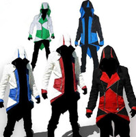 Assassins Creed 3 III Connor Kenway Hoodies Mens Coats Hoode...