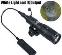 Тактические СФ M300V-ИК-разведчик свет LED пистолет свет белый свет и ИК-выход черный