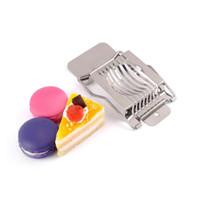 Multifunktions Edelstahl Gekochte Eierschneider Abschnitt Cutter Pilz Tomatenschneider Teiler Für Küche Kochwerkzeug ZA3185