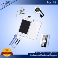 For iPhone 4S White Full Complete LCD Screen Display Digitiz...