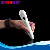 La peau de poche renouvellent l'écran d'affichage à cristaux liquides balayent la machine électrique de stylo de traitement de tache de tache de rousseur avec la puissance 5 ajustable pour les hommes des femmes
