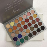 JACLYN HILL 35color Eyeshadow BRUSHES EYE SHADOW PALETTE Fre...