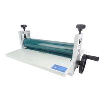 "NEW 14"" 350mm Manual Laminating Machine Photo Vinyl Protect Rubber Cold Laminator 1pc Cold Roll Laminator"