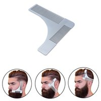Stainless Steel Beard Shaping Tool Shaper and Styling Templa...