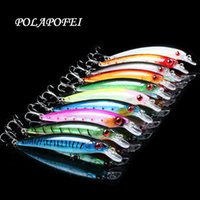 Polapofei 10Pcs Wobbler Fishing Lures Crankbait Fishing Bait...