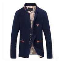 Botón al por mayor Nueva Otoño Invierno de calidad superior de los hombres de lana individual ocasional de la chaqueta, chaqueta de la capa de visita delgada de los hombres, TAMAÑO M-2XL, T2798