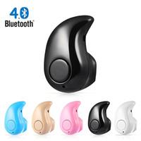 Supper Mini S530 Drahtloser Bluetooth Kopfhörer BT 4.0 In-Ear-Headsets mit Micro-Hörer Freisprecheinrichtung für Xiaomi Samsung iPhone Smartphone