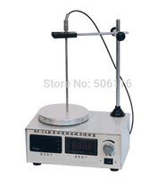 Free ship new Magnetic Stirrer heating plate hotplate mixer display speed & temp 220-240V