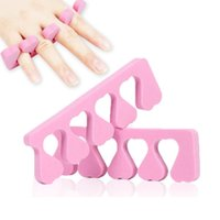 Pink Color Toe Separator Heart Soft Form Finger Foot Sponge ...