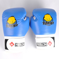 Hot 1 Pair Kids MMA Boxing Gloves Children Kickboxing Kick B...