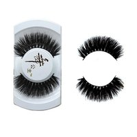 1 PAIR Soft Black New Luxurious 100% Real Mink Natural Thick Fake Eye Lashes False Eyelashes Herramientas de maquillaje