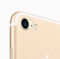 """100 pz / lotto per iPhone 7 4.7 """"7 Plus 7 Plus 8 G 8 + 8 P 5.5"""" X XS MAX Posteriore Della Fotocamera Vetro Temperato Indietro Lenti Anti-Scratch Cerchio Custodia Film"""