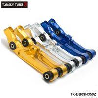 Tansky - Braço de controle inferior frontal para Nissan 350z 2D 3.5L CNC Billet Upgrade Bucha Azul / Prata / Golden TK-BB09N350Z