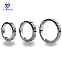 Бесплатная Доставка ! Кольца крана кольца пениса нержавеющей стали, мужской прибор целомудрия,кольцо секса,кольцо крана металла,игрушки секса для людей