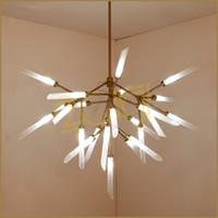 Modern LED Kolye Işık Fikstür Yemek Oturma Odası Restoran Mutfak Lamba Yaratıcı Armatür Suspendu Kolye Lambaları