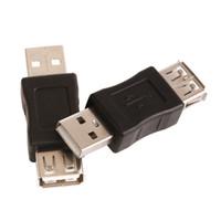 Vente en gros 100pcs / Lot Standard USB 2.0 A Femelle à 2.0 Adaptateur Mâle Convertisseur F M