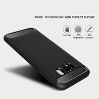 Carbon Fiber Case for Samsung Galaxy S8 Plus S7 edge For iP ...
