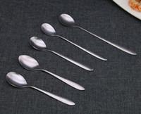 La maniglia lunga dell'acciaio inossidabile della maniglia di trasporto libera mescola il cucchiaio DS001 del ghiaccio del cucchiaio come le vostre esigenze