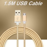 1.5 M Type C Long Tressé USB Chargeur Câble Micro V8 3.5mm Câbles Data Line Charge CAB185